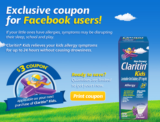claritin kids coupon