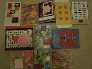 recycled cards