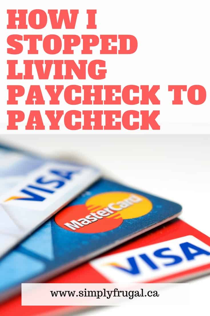 Here's an inspiring story on how one family stopped living paycheck to paycheck. Full of practical tips to help you out.