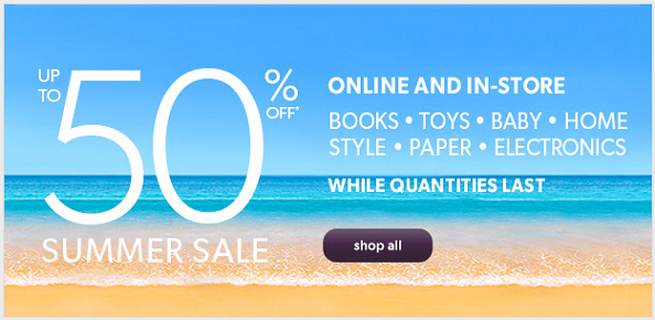 chapters summer sale