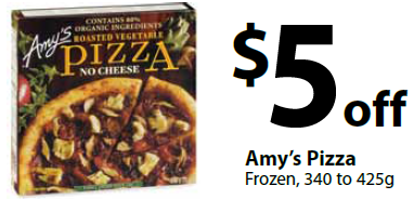 Amy S Kitchen Pizza Coupon