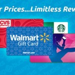Swagbucks – All $5 Gift Cards only 450 Swag Bucks August 1