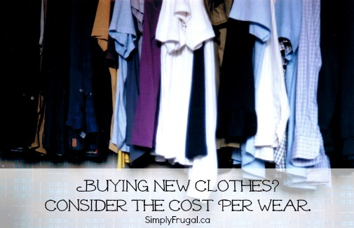 cost per wear clothing
