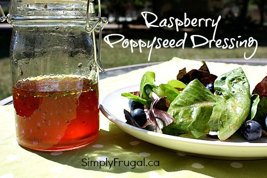 raspberry poppyseed dressing recipe