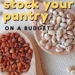 Having a well-stocked pantry can help make or break your grocery budget each month. Here are 6 fabulous tips to help you stock your pantry on a budget.
