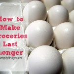 How to Make Groceries Last Longer