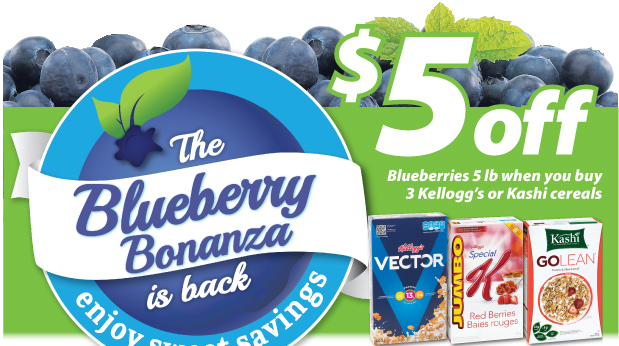 save on foods blueberry deal
