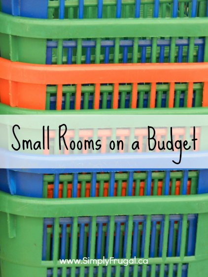 small rooms on a budget