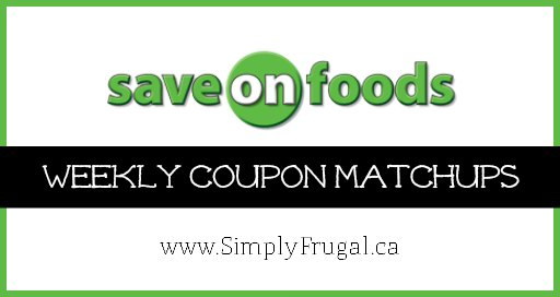 Save On Foods Coupon Matchups