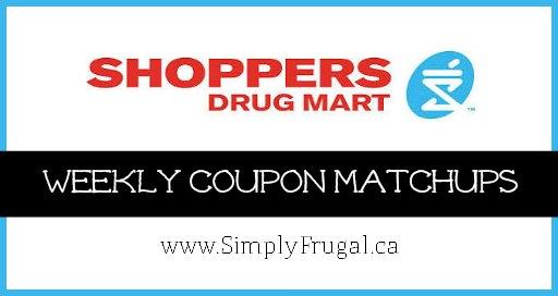 Shoppers Drug Mart Coupon Matchups