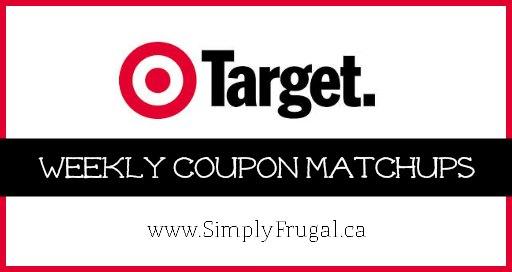 Target Canada Coupon Matchups