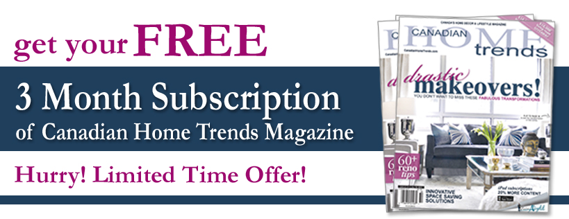 home trends magazine subscription