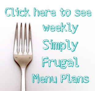 Simply Frugal menu plans