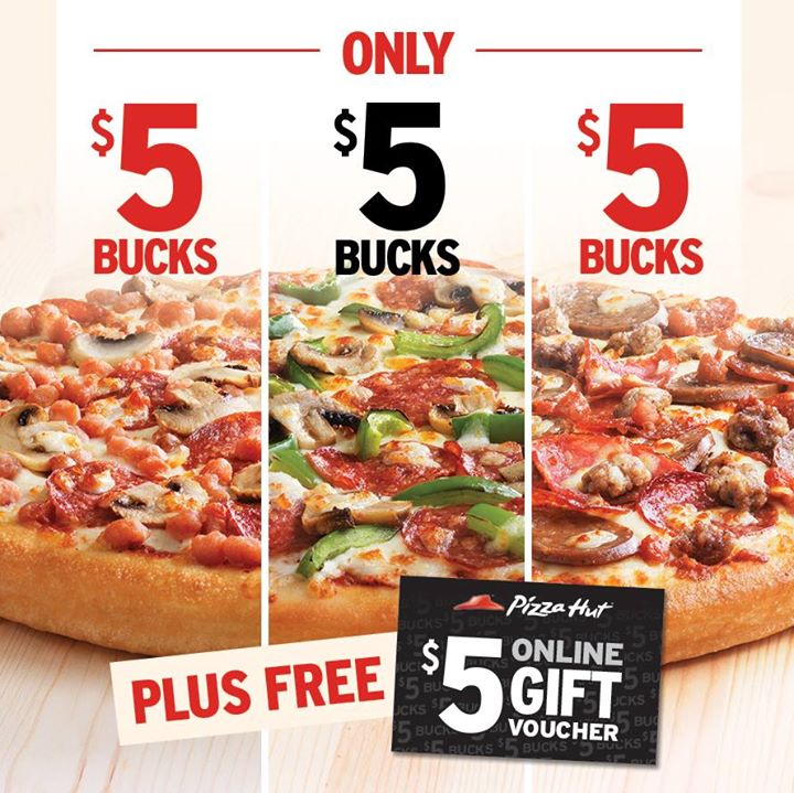 pizza hut $5