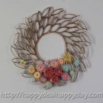 Easy DIY: Toilet Paper Roll Wreath
