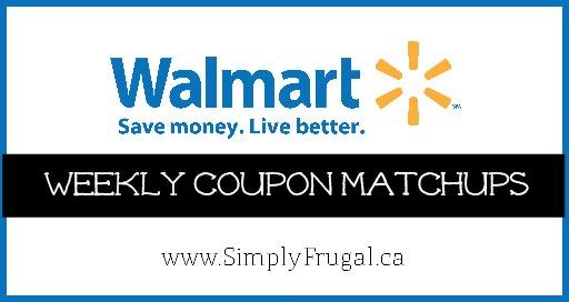 walmart canada coupon matchups