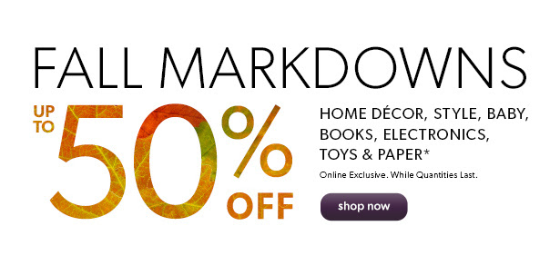 chapters fall sale