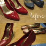 Easy DIY: Glitter Shoes