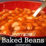 Lorraine's Baked Beans