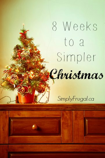 simpler christmas