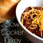 This slow cooker turkey chili is perfect for chilly nights when all you want is some comfort food. I've tried quite a few chili recipes and I think I've found my new favourite!