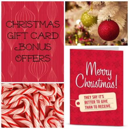 christmas gift card deals