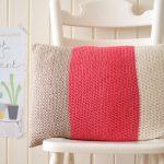 A Homemade Christmas Gift – Color Block Cushion
