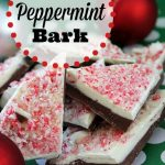 You've got to try this simple and quick homemade peppermint bark! Makes a great gift too.