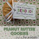Peanut Butter Cookies and a Free Printable