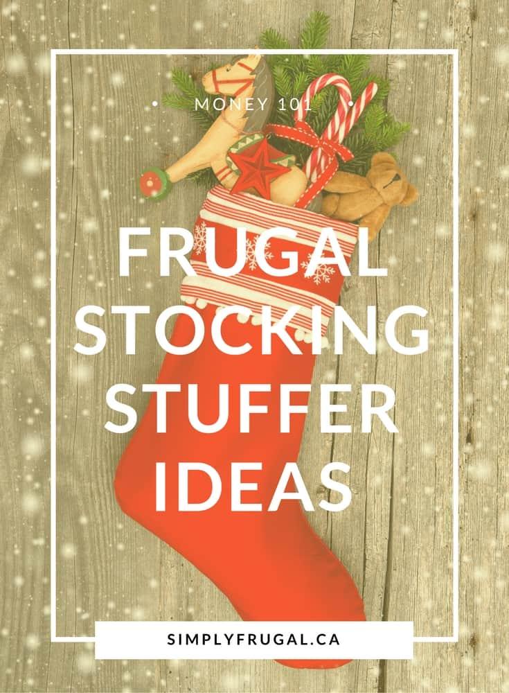 Frugal Stocking Stuffer Ideas