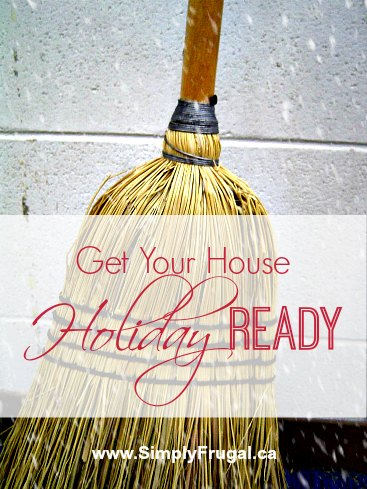 get your house holiday ready
