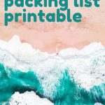 This list is not just any list, it's The Ultimate Packing List! I don't think I'll ever forget anything with this packing list. It's perfect and free to download! #packinglist #packing #travel