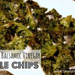 Salt and Balsamic Vinegar Kale Chips