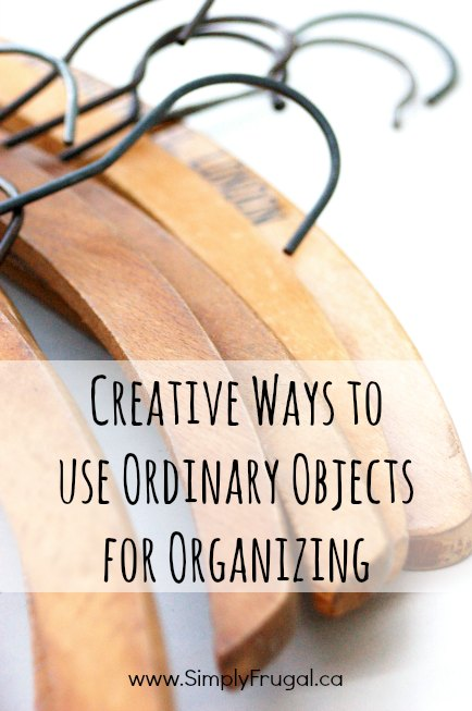 30 creative ways to use ordinary objects for organizing!