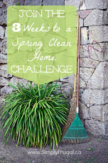 3 weeks to a spring clean home