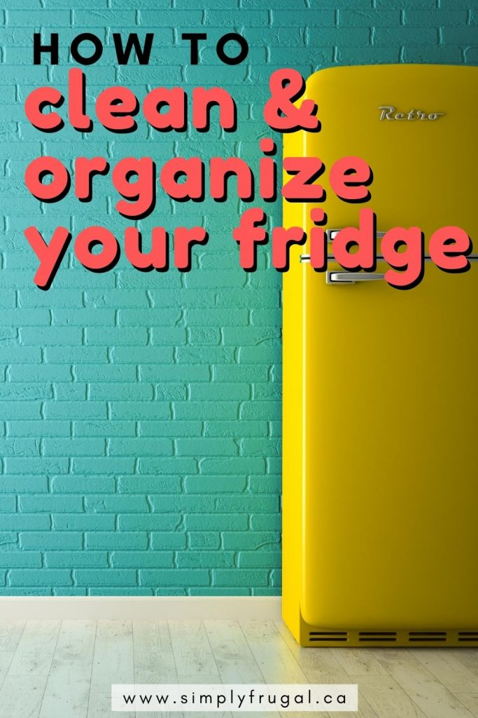 Here are some great tips on how to clean your fridge AND keep it organized!
