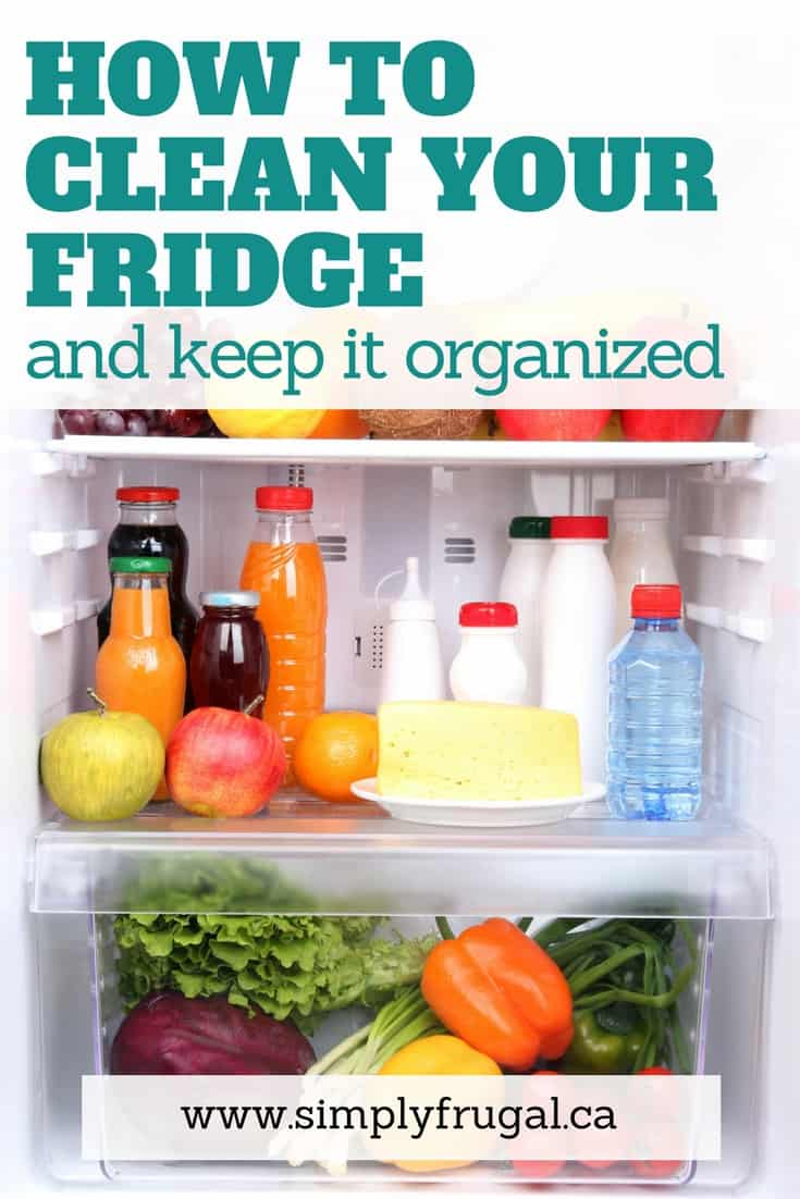 I love these tips for how to clean your fridge... and keep it organized!
