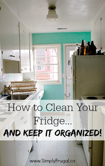 How to clean your fridge...and keep it organized!