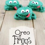 Quick and Easy Oreo Frogs