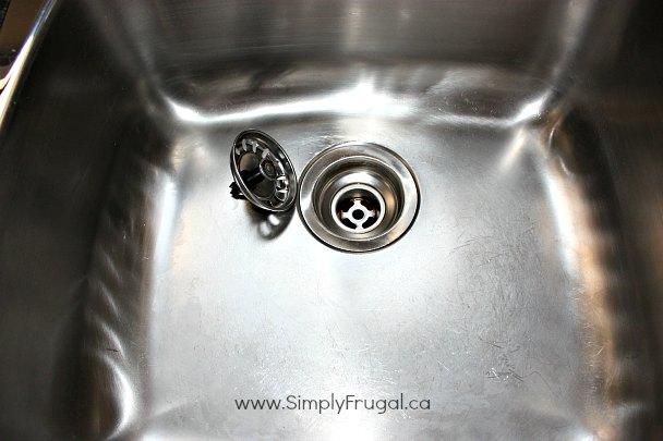 sink shine
