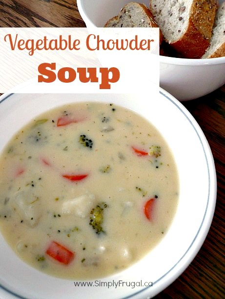This easy and delicious vegetable chowder soup will be a hit with everyone!