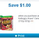 kellogg's krave coupon
