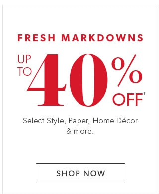 chapters markdowns