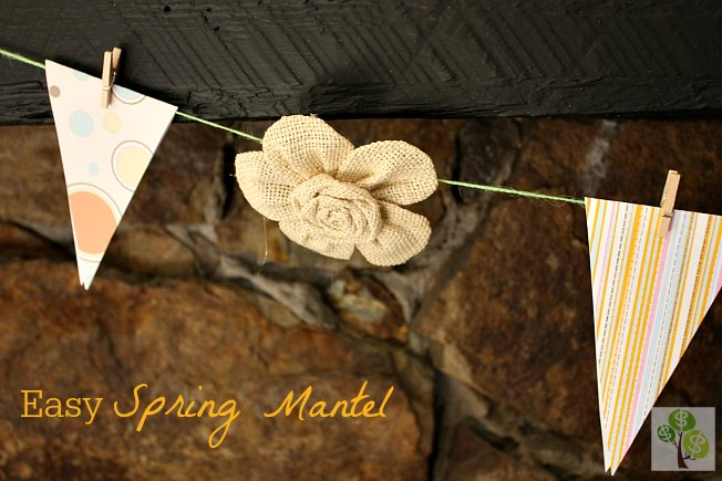 easy spring mantel1