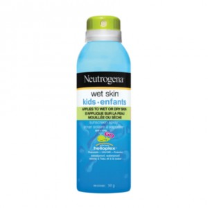 neutrogena wet skin sunscreen spray