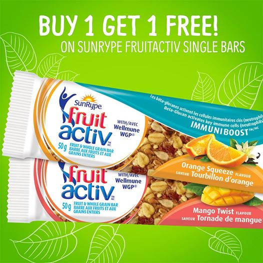 sunrype fruitactive bar