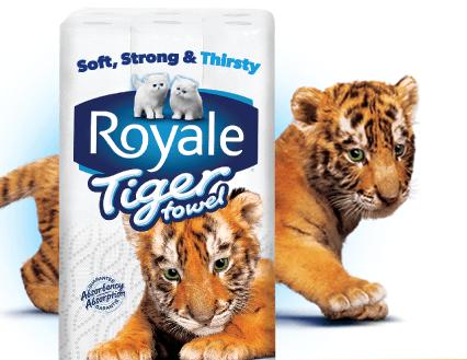 royale tiger towel coupon
