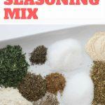DIY Italian Seasoning Mix. #diy #pantrystaples
