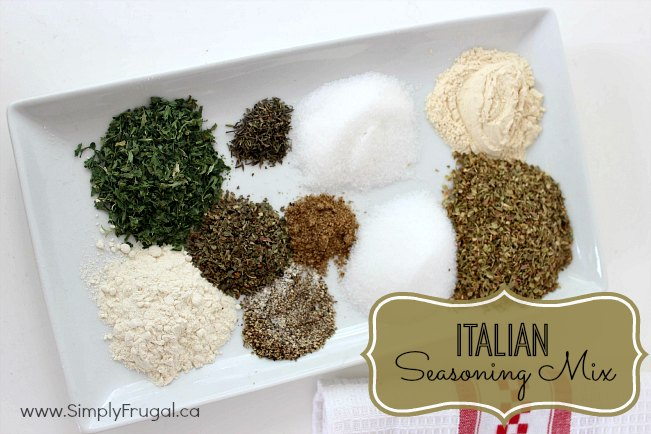 DIY Italian Seasoning Mix