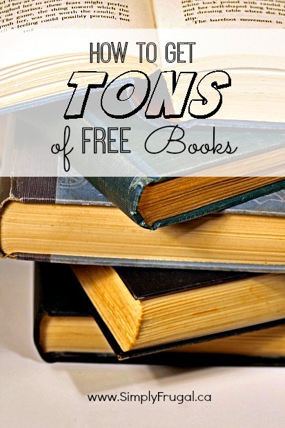 How to get tons of free books